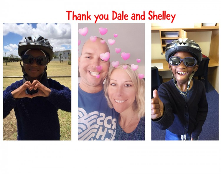 Shelley & Dale Cycling for Home of Hope 2018