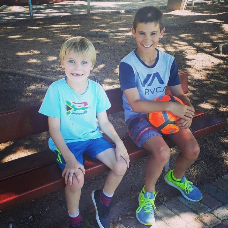 Stuart & Connor's Ironkids for Smile