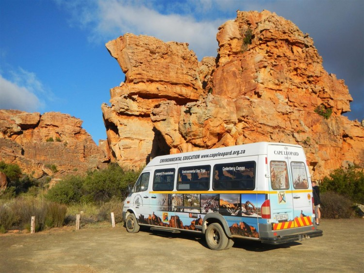 #67give A Bus for the Cape Leopard Trust
