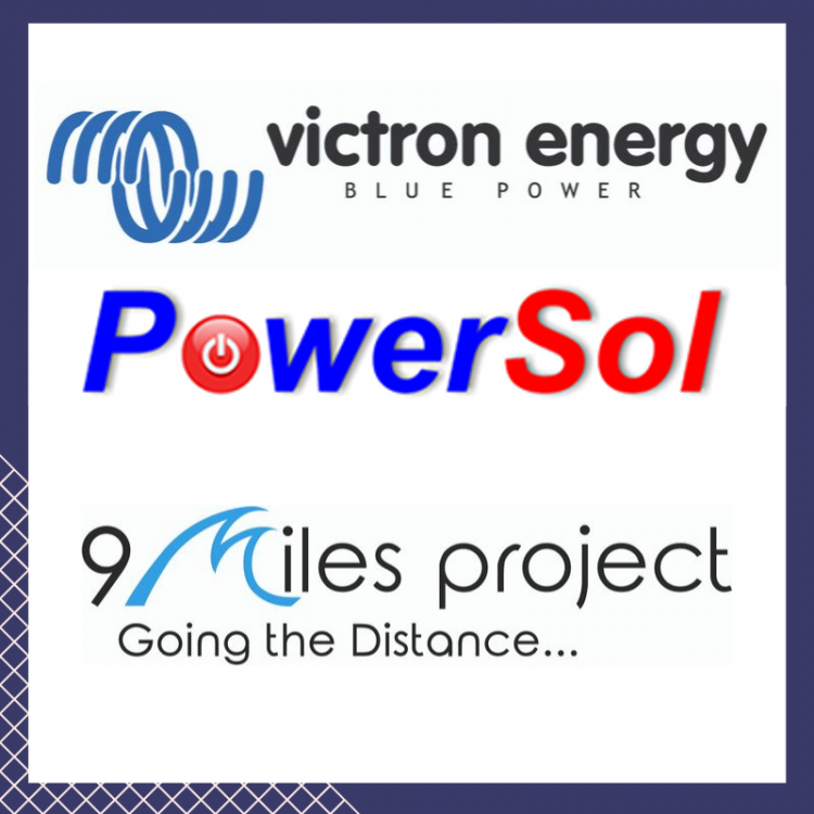 The  Victron Energy/ 9 Miles Project  Optimist  for The Great Optimist Race