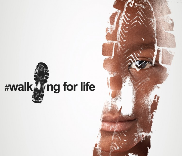 #WalkingForLife