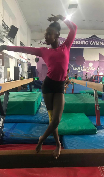 Help Garcelle Travel to Compete (Gymnastics)