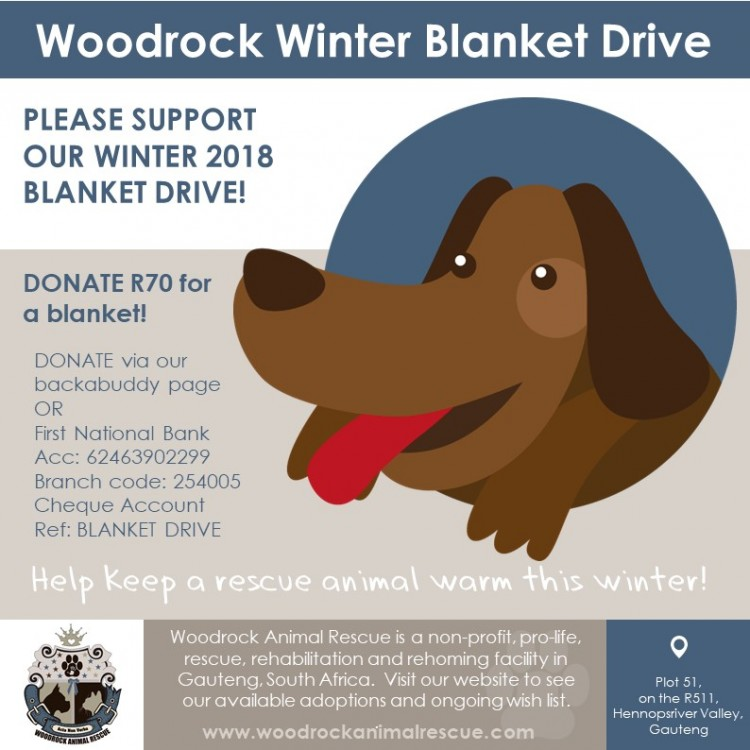 Woodrock Winter Blanket Drive 2018