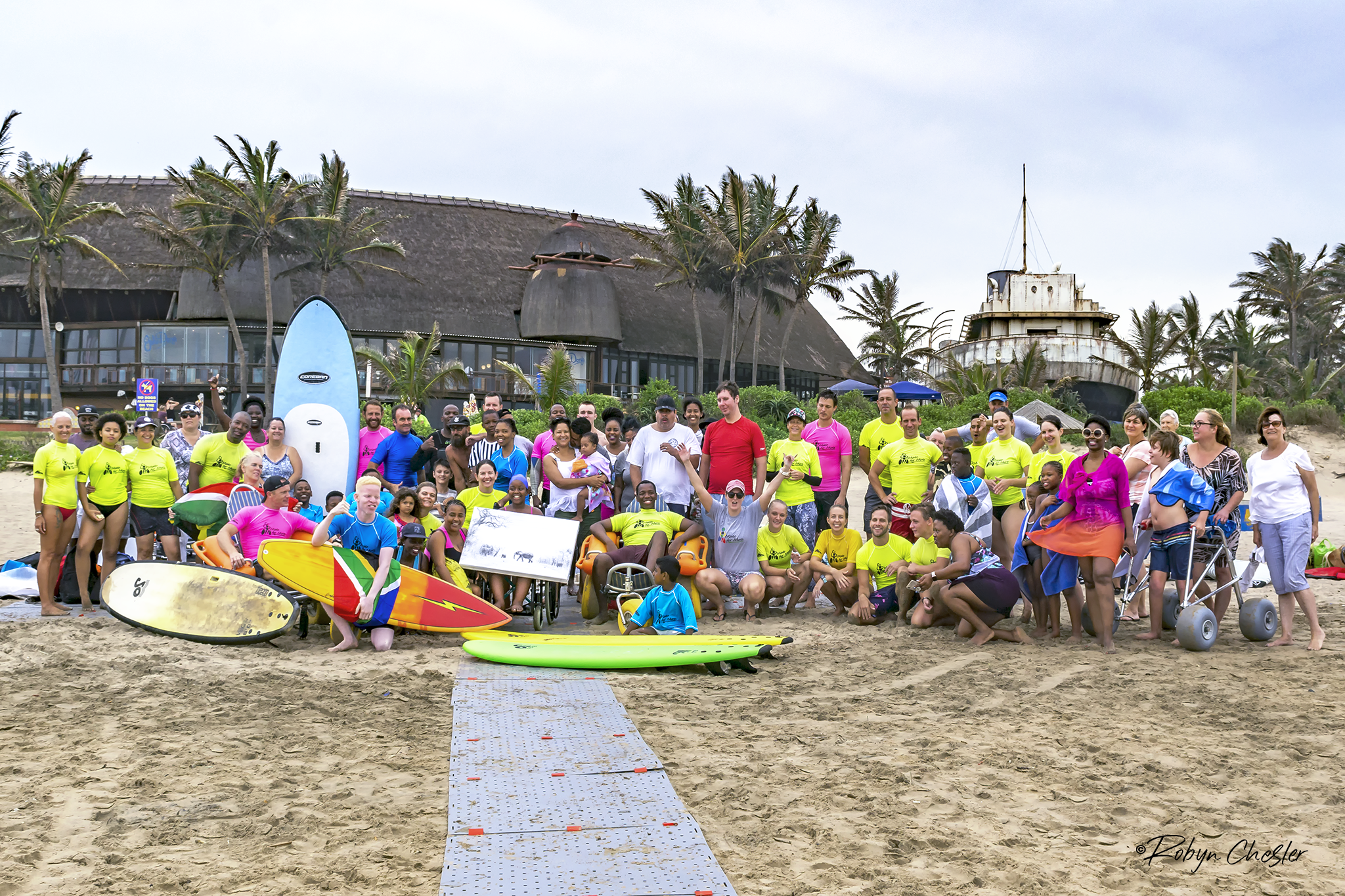 Help get the South African Para Surfing Team to the ISA World Para Surfing Championships in the USA