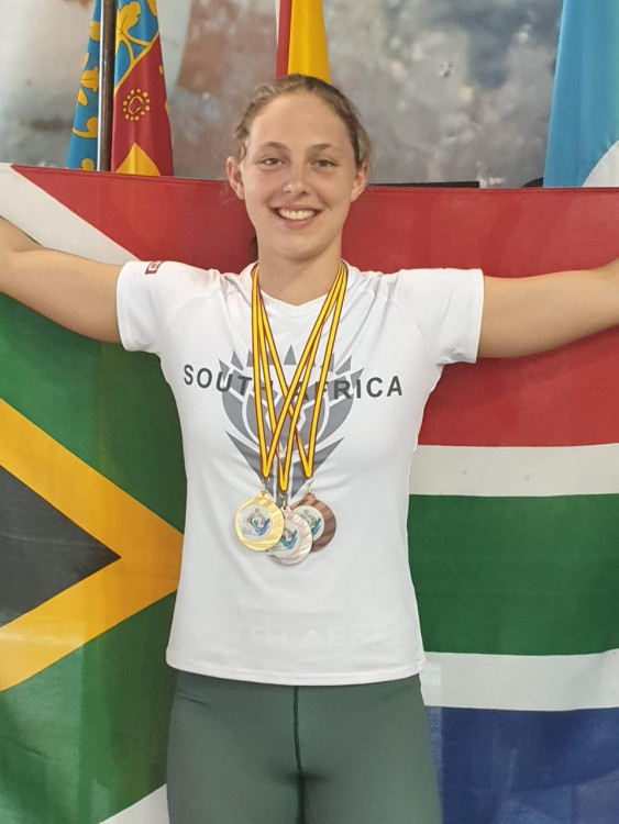 South African Lifesaver Competing Internationally