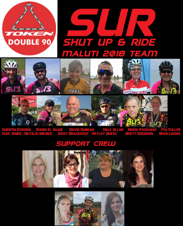 Shut up and ride 2018