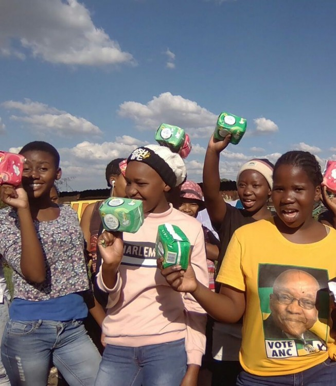 Sanitary towels campaign for girls - Hope for girls