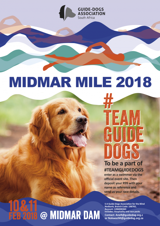 #TEAMGUIDEDOGS at MIDMAR 2018