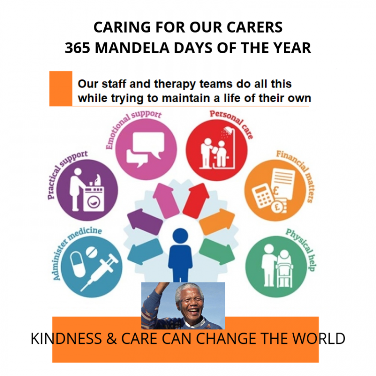 365 Mandela Days of Care