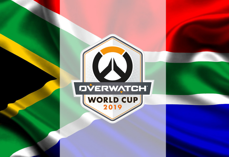Team South Africa to Overwatch World Cup
