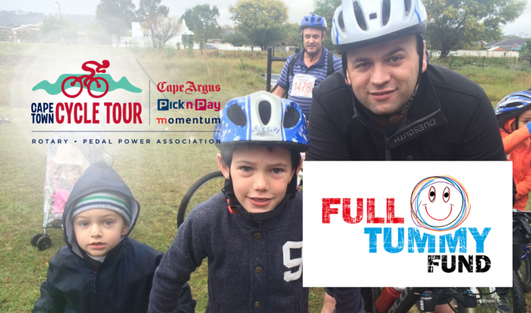 Pierre's Cycle Tour for Full Tummy Fund